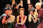Hra Kdyby tisíc klarinetů ve Slováckém divadle v Uherském Hradišti.