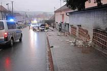 V Pašovicích se nedávno stala už několikátá nehoda v úseku před tamní mateřskou školou.