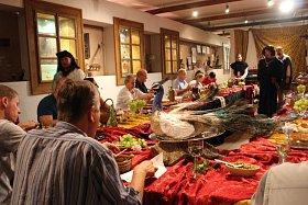 Historická hostina v Uherském Brodě