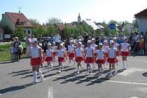 Do Hluku se sjely mažoretky z Jimoravského a Zlínského kraje.