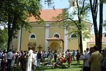 Tradiční hlavní pouti, která se na Svatém Antonínku koná každý rok první neděli po svátku Antonína, se v neděli 17. června zúčastnily tisíce lidí. Na hlavní mši jich podle odhadů dorazilo nejméně pět tisíc.