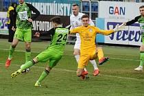 Brankář Slovácka Matouš Trmal je úspěšný nejen na ligových trávnících, ale i při hraní na konzoli Playstation.