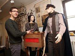 Výstava Svět mechanické hudby v muzeu v Uherském Brodě.