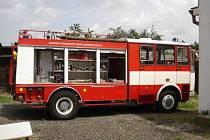 Vozidlo CAS K 25 Liaz 101.860, které hasiči z Bánova dostali od svých zlínských kolegů, se již osvědčilo v praxi.