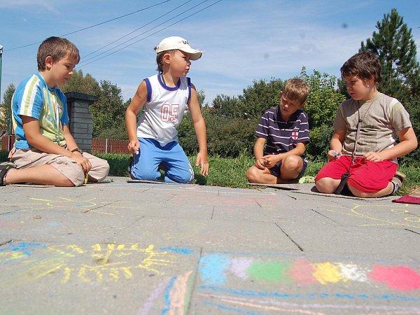 Jarošovské děti prověřily svůj výtvarný talent.
