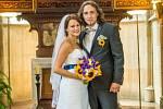 Soutěžní svatební pár číslo 70   –  Veronika a Vlastimil Mazáčovi, Jívová