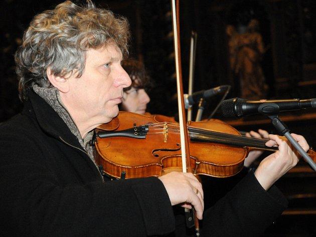 Štěpánský koncert Hradišťanu ve velehradské bazilice.