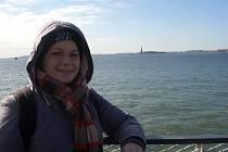 Zuzana Hoffmannová v USA.
