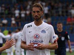 Libor Došek (v bílém).