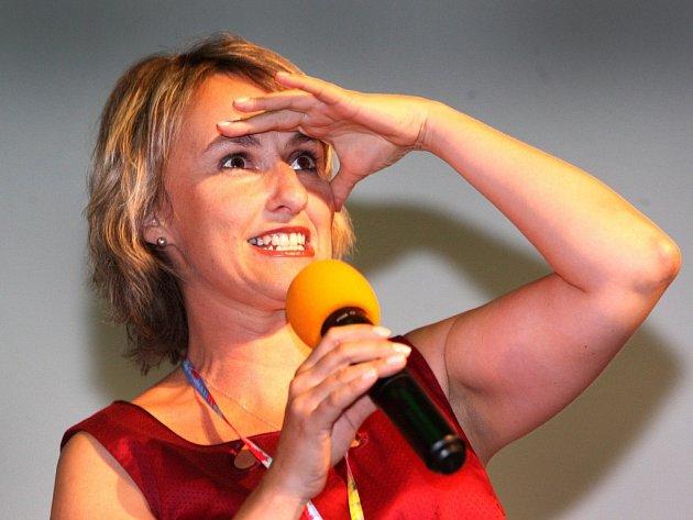 Ředitelka Letní filmové školy v Uherském Hradišti Radana Korená .