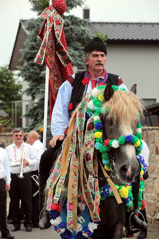 Jízda králů v Kunovicích, 11. 7. 2021.