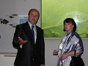 Prezidentský pár si v archeoskanzenu Modrá udělal procházku Velkou Moravou