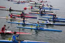 Nejpočetnější starty: Nejvíce pádlujících, třiačtyřicet, se představilo vzávodech kajaku na 5 kilometrů, 49 běžců se pak utkalo na trati 2,5 kilometru kolem jezera Čtverec.