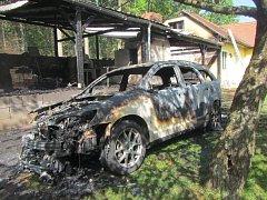 V neděli 29. dubna vyjížděli hasiči k požáru v Osvětimanech. Celkové škody se nakonec vyšplhaly na milion korun.