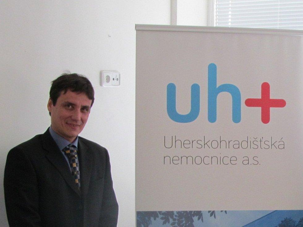 Miroslav Sládek, ředitel Uherskohradišťské nemocnice. Ilustrační foto.