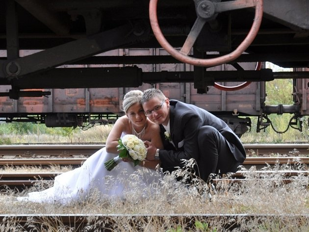 Soutěžní svatební pár číslo 58 - Ivana a Petr Měrkovi, Uherský Brod.