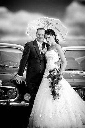 Soutěžní svatební pár číslo 76 - Anna a Petr Navrátilovi, Vojnice.
