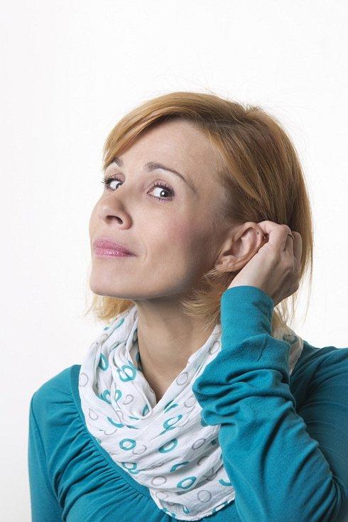 Alžběta Mahdalová ze Slováckého divadla.
