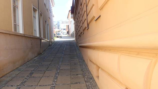 Přes devět milionů plánuje vedení Uherského Brodu investovet do uliček Úzká a Příčná poblíž Mariánského náměstí.