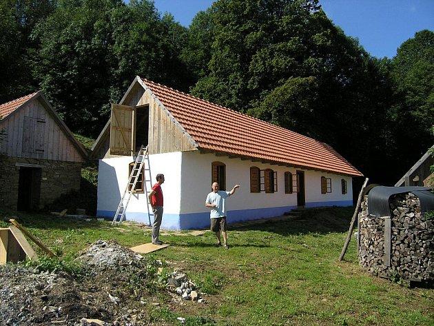 Chalupa na Vyškovci. Ilustrační foto.