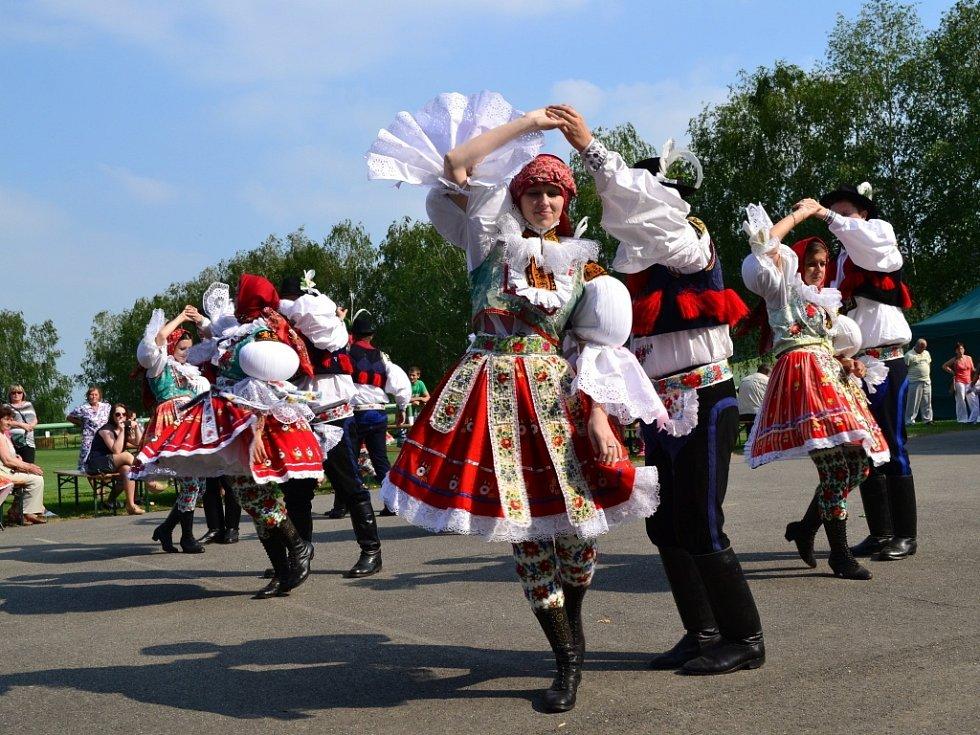 V Drslavicích slavili trojnásobné výročí.