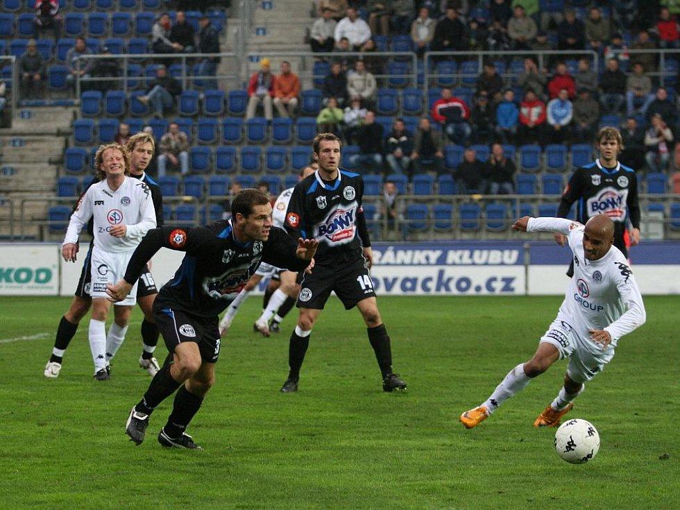 Utkání 1. FC Slovácko - Kladno.