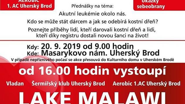 V Uherském Brodě chystají happening dárců kostní dřeně.