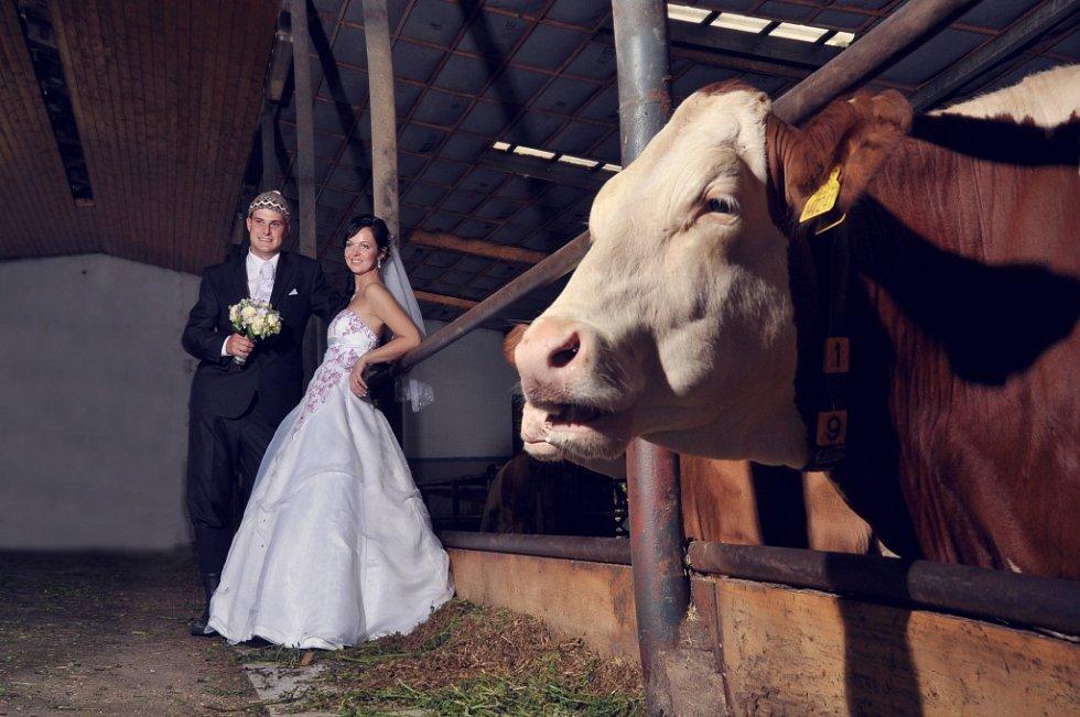 Soutěžní svatební pár číslo 224 - Eva a Martin Morávkovi, Hrabenov.