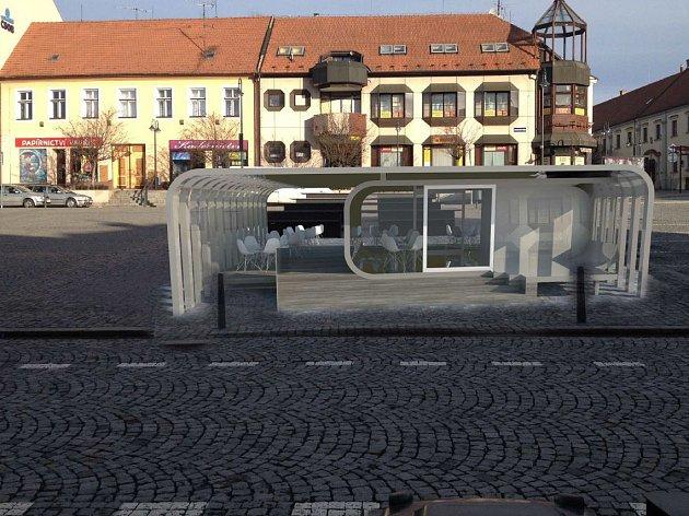Zveřejněný návrh toho, jak by v Uherském Brodě na Masarykově náměstí mohla vypadat kavárna, se nesetkal s kladnou odezvou. I kvůli ní nakonec město od záměru pravděpodobně ustoupí.