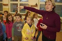 Na uherskohradišťské sportovní škole uspořádali úterní odpoledne podle přání všech dětí na světě. Mohly si ve škole hrát dle libosti.