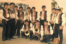 Oslava 1. máje v Uherském Brodě s dechovou hudbou Žítkovjané