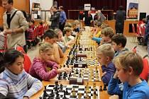 Šachový klub Staré Město uspořádal první turnaj ze seriálu Grand Prix Zlínského kraje pro mladé šachisty do 14 let.