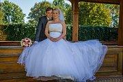 Soutěžní svatební pár číslo 122 - Adam a Marie Podhajští, Nový Jičín