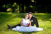 Soutěžní svatební pár číslo 30 - Marek a Lenka Vymlátilovi, Olomouc