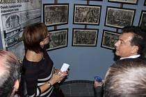 Výstava věnovaná obětem holocaustu je v ořechovském zámku k vidění až do konce října