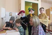 Zápisy do prvních tříd probíhaly zábavnou formou.