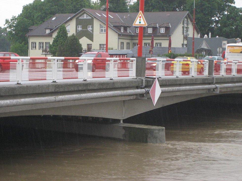 Moravní most v Uherském Hradišti. Ilustrační foto