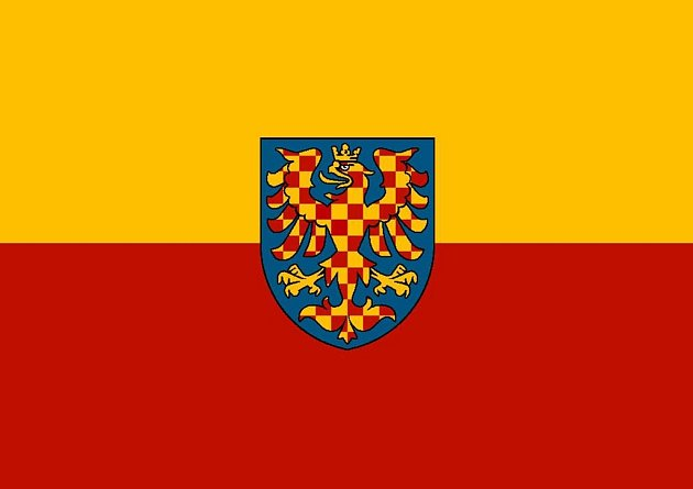 Moravská zemská vlajka