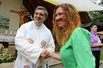 V pondělí 6. července sloužil svou první mši svatou na Svatém Antonínku Lhoťan Vojtěch Radoch. Blahopřání farníků.