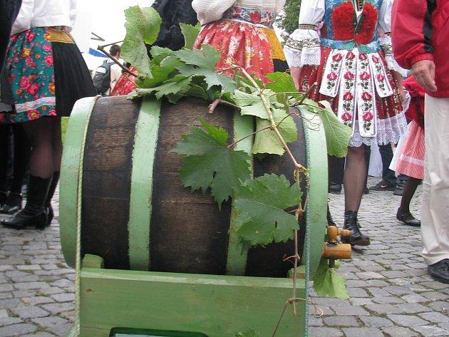 Slovácké slavnosti vína. Ilustrační foto.