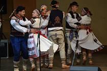 Nejen folklor, ale i folk a bluegrass nabídly Hrozenkovské slavnosti.