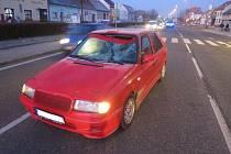 Řidič Felicie srazil na přechodu chodce.