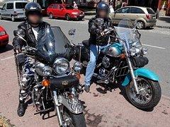 Motorkáři. Ilustrační foto.