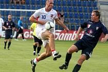 Exhibiční fotbalového utkání týmu EURO 1996 vs. 1.FC Slovácko