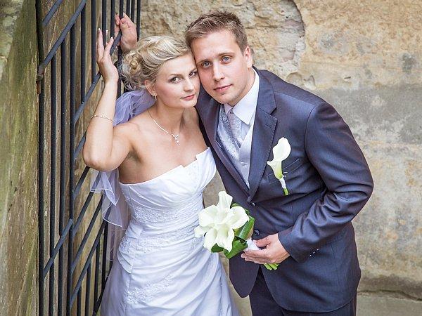 Soutěžní svatební pár číslo 46 - Šárka a Martin Kučerovi, Olomouc.