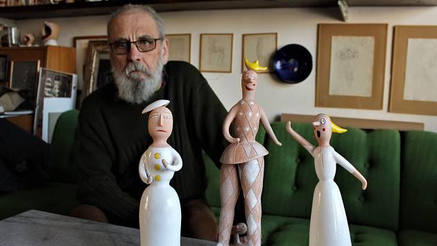 Autorem aktuálních cen Největší z pierotů je keramik Vladimír Groš.