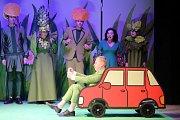 Hra Anička a bylinkové kouzlo ve  Slováckém  divadle v Uherském Hradišti.