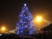 Hradišťrský vánoční strom roku 2017 dostal jméno Štěpán Šiška.