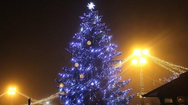 Hradišťský vánoční strom se jmenuje Štěpán Šiška