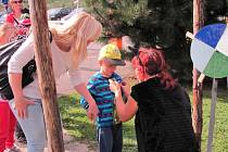 Chřibákův les v Penzionu Malovaný u Osvětiman.